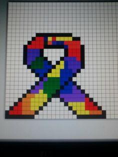 Puzzle piece awareness ribbon