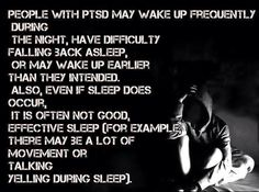#insomnia #ptsd
