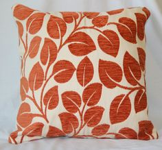 pillow - burnt orange