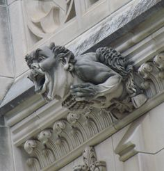 Cool Gargoyle on the National Cathedral in Wash. DC