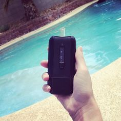 Vaping by the pool is awesome!