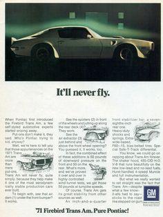 1971 Pontiac Firebird Trans Am | Flickr - Photo Sharing!