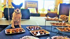 Chef Eddie and the Arf-Petizer Table at the Fabulous fur-Babies Cotillion