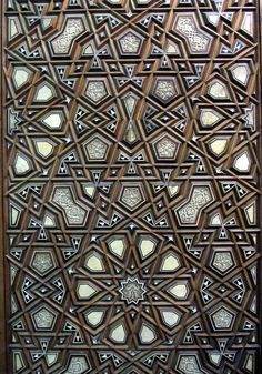 Pretty Islamic Pattern, Al-Rifa'i Mosque, Cairo, Egypt | Flickr