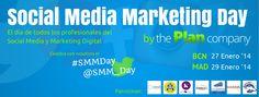 Barcelona y Madrid acogerán a final de mes el Social Media Marketing Day #SMMDAY