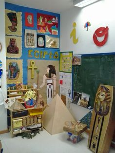 Ideas for our Night at the Museum display for parents. Ancient Egypt Activities, Ancient Egypt Crafts, Ancient Egypt For Kids, Egyptian Crafts, Egyptian Party, Ancient Egyptian Art, Ancient History, Art Club Projects, History Projects