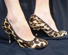 Image detail for -PRADA Leopard Animal Print PUMP Shoes