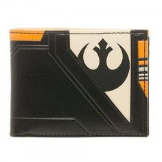 Officially Licensed STAR WARS Black Squadron BiFold Wallet ID Display