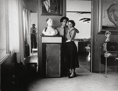 Dali and Gala at home - photo by Brassai.