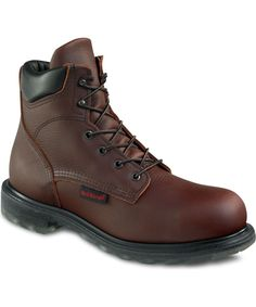 Red Wing Men's 6-inch Steel Toe Boot – 2406   perfect match with jeans!!! Feels so good..