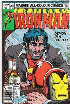 Iron Man #128 The Alcohol Issue Bronze Age Marvel Comics Key Issue VF/NM