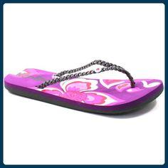 Urban Beach  FW571 Petals Nectar, Damen Dusch- & Badeschuhe, Violett - violett - Größe: Size 5 - Zehentrenner für frauen (*Partner-Link)