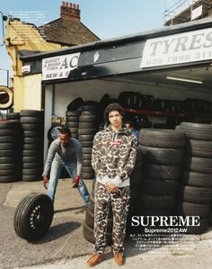 MAP - News – Tyrone Lebon Shoots Supreme Collection for Grind Magazine Tyrone Lebon, Tyre Brands, Supreme, London, Photography, Editorial, Garage, Hoodie, Concept