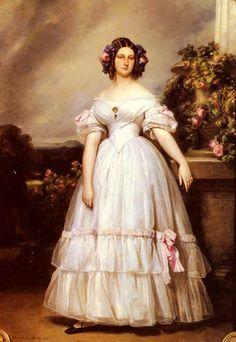 Portrait of H.R.H Princess Marie - Franz Xavier Winterhalter