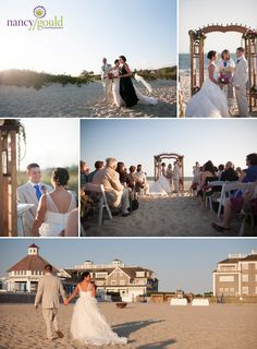 Wild Bunch Studio beach wedding at Wychmere
