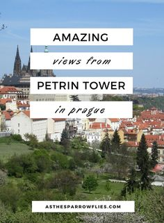 Petrin Observation Tower | Prague | Prague City Break | Petrin Hill | What To See In Prague #Prague #PragueCityBreak #TravelTips