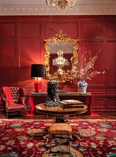 Finally, the Kips Bay show house gets the showplace it deserves. Interior Design Inspiration, Home Interior Design, Interior And Exterior, Interior Decorating, Decorating Ideas, Decor Ideas, Classic Interior, Luxury Interior, Luxury Furniture