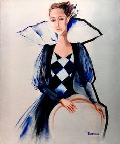 Chess queen, oil on canvas, 54 W x 65 H x 2 D cm Buy Paintings Online, Online Painting, Chess, Oil On Canvas, Saatchi Art, Original Paintings, Queen, Color, Inspiration