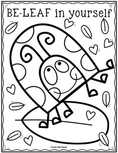 Coloring Club Library — From the Pond Spring Coloring Pages, Cute Coloring Pages, Animal Coloring Pages, Coloring Books, Craft Activities For Kids, Preschool Art, Painting For Kids, Art For Kids, Kindergarten Coloring Pages