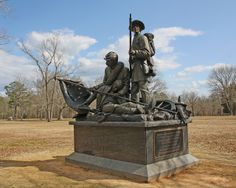 Tennessee Monument at Shiloh Battlefield battle of shiloh monuments Confederate Monuments, Confederate States Of America, Confederate Statues, Confederate Flag, Shiloh Battlefield, Gettysburg Battlefield, American Revolutionary War, American Civil War, Battle Of Shiloh