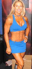 donne fitness pesi
