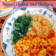 Curried chicken and chickpeas Dinner tonight, July 13, 2016 Just so delicious be careful with the if you have a hot curry, to to add to much ( only if you like it hot ) http://www.ahousewife.com/RecipeBlog/index_files/Curried-chicken-and-chickpeas.html