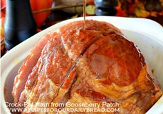 This All Day Slow Cooker Whole Ham is a simple pineapple glazed ham recipe that cooks perfectly in your slow cooker. Brown sugar, pineapple ...