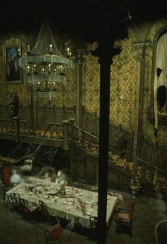 Haunted Mansion Ballroom.... AT Walt Disney World.... Love This Ride....