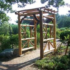 garden Trellis custom made by Natural Edge