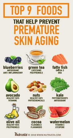 9 Anti Aging Foods That Help Prevent Premature Skin Aging. Studies show fats, along with a healthy lifestyle, were found… Foods For Healthy Skin, Healthy Food Choices, Healthy Tips, Healthy Eating, Healthy Recipes, Sport Nutrition, Health And Nutrition, Health And Wellness, Good Health Tips