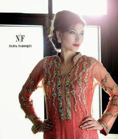 Nadia Farooqui Eid Exhibition 2014 | Eid Dresses By Nadia Farooqui – She9 | Modify the Life Style - FASHIONPAB | FASHIONPAB