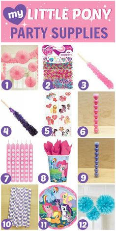 My Little Pony Party Ideas - 7 Must-Haves!