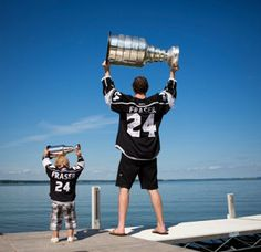L.A. Kings Colin Fraser tells us about his dream vacation. #nhl #hockey