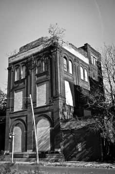 Abandoned brewery. Milwaukee, Wisconsin.