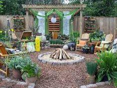 backyard on pinterest grass no grass landscaping and no grass yard