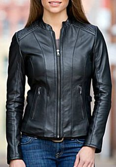 Leather Jackets never go out of style!