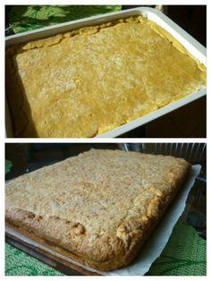 Tvarohovo-orechový koláč (fotorecept) - recept | Varecha.sk Bread, Desserts, Food, Basket, Tailgate Desserts, Deserts, Brot, Essen, Postres