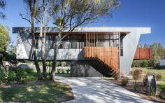 Passive solar beach house is a contemporary take on the Australian beach shack.