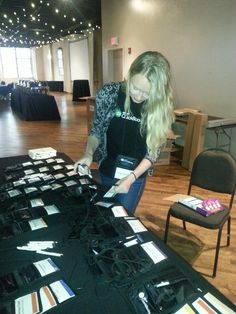 Intuit's Paige Costello getting ready for the big event!