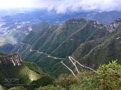The mountain road by EthelP