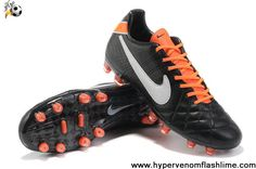 Buy 2013 New Nike Tiempo Legend IV Elite FG Black-White-Total Orange Football Boots Shop