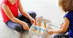 Make these 4 super fun toys using boxes or toilet paper rolls!: DIY Mini Foosball Table Holy Foosball, Rockets, and More, oh my. Winter Art Projects, Art Projects For Teens, Cardboard Toys, Paper Toys, Diy For Kids, Crafts For Kids, Craft Kids, 4 Kids, Carton Diy
