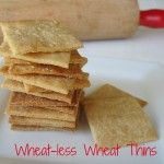 "Need to try,  love wheat thins,,,but since reading ""Wheat Belly"" diet had stopped"