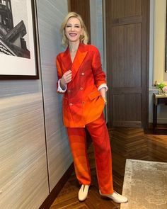 Cate Blanchett, Celebs, Celebrities, Office Outfits, Me As A Girlfriend, Fashion Beauty, Dress Up, Suit Jacket, Jumpsuit