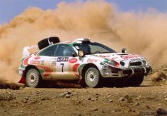 Toyota CELICA WRC 1994 - 1997   with Waterinjection