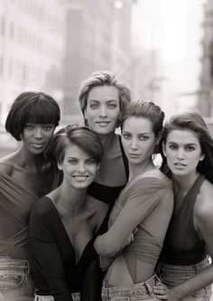 Naomi, Linda, Tatjana, Christy & Cindy. One of my all-time favorites