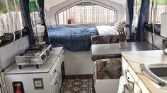 pop-up camper remodel