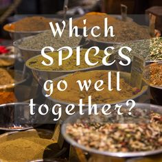 Spice Combinations, Herbs List, Natural Fertility, Healthy Diet Tips, Healthy Meals, Fiber Diet, Spices And Herbs, Fresh Herbs, Spice Mixes
