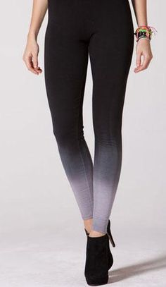 Ombre | 9 Stylish Leggings to Knock Your Socks Off #style #clothing #style #fashion