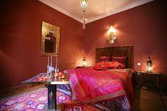 Chambre Warda:Riad Zayane - Marrakech